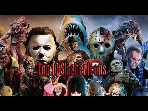 Top 10 Slasher Icons (Horror)