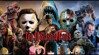 Top 10 Slasher Icons (Horror)