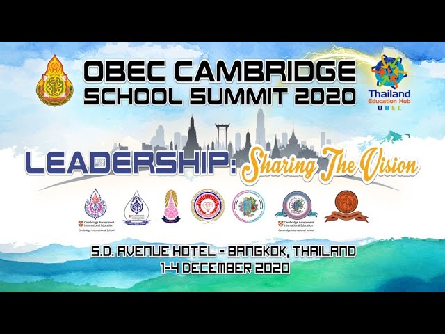 OBEC Cambridge School Summit 2020