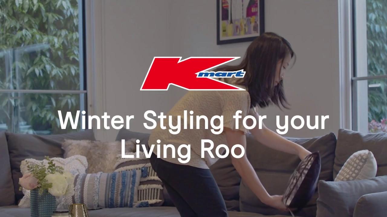 Kmart Winter Styling - Living Room