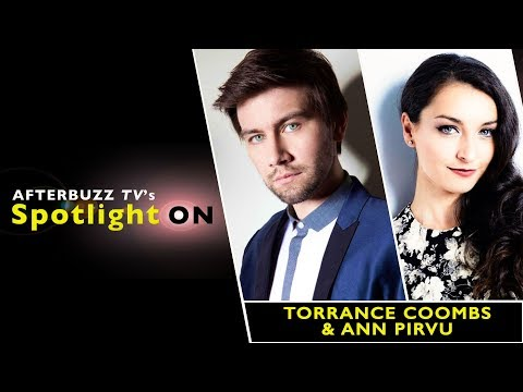 Torrance Coombs & Ann Pirvu  AfterBuzz TV's Spotlight On