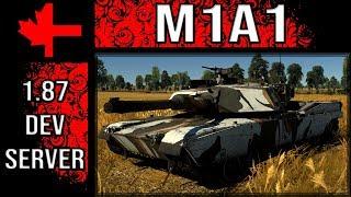 War Thunder Dev Server - Update 1.87 - M1A1
