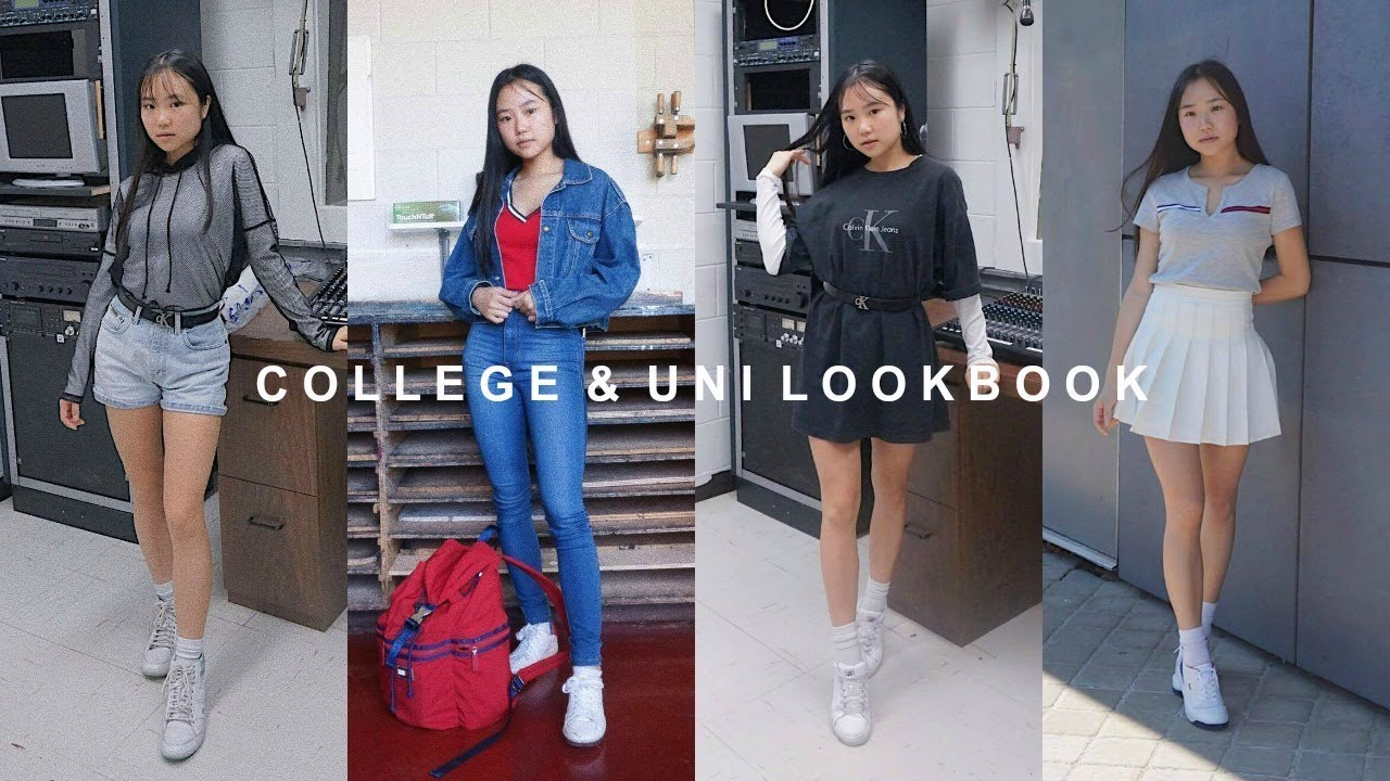 COLLEGE & UNI LOOKBOOK | Back to School Outfits | THATTOMMYGIRL