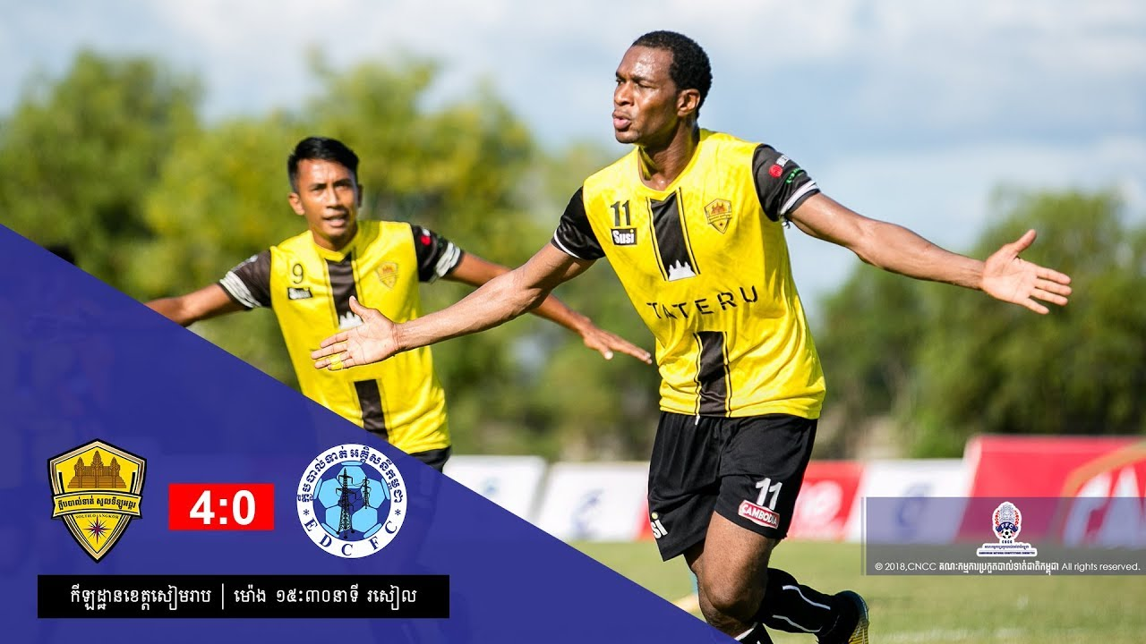 [MCL Week 21] Soltilo Angkor FC (4-0) EDC FC