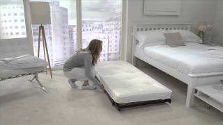 Jay-Be Trundle Guest Bed with Pocket Sprung Mattress - FutonSofaBedsDirect.co.uk