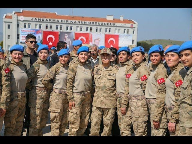 Jandarma uzman erbaşlar terörle mücadele için hazır  İZMİR