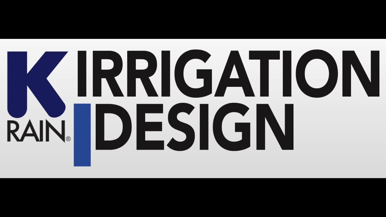 How to design an irrigation system - YouTube