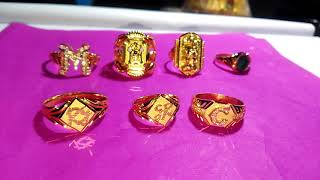 4 to 8 grams 916 gold rings