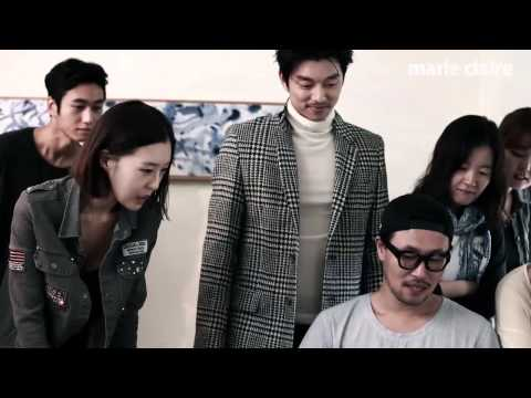 (Marie Claire Korea)  Behind the scene with Gong Yoo