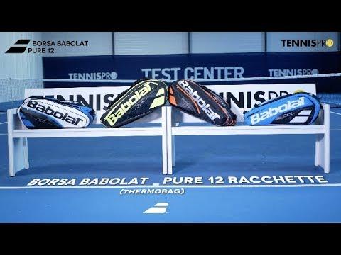 eb2b5bf424 Borsa da tennis Babolat Pure 12 - YouTube