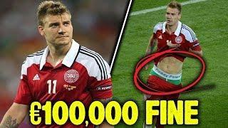 10 Craziest Punishments In Football!