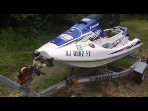 94 Kawasaki 750 ss jet ski. first start - YouTube