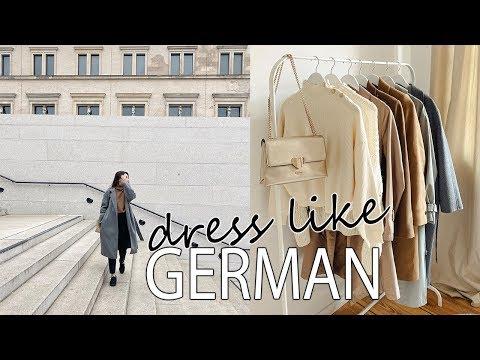 GERMAN STYLE: Effortless Fashion