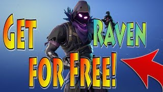 How to Get Fortnite Raven Skin FREE! | Best Way to Get any Fortnite Item Free | Week 7 Update