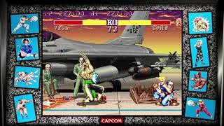Street Fighter II: Hyper Fighting (PlayStation 4) Arcade as Vega