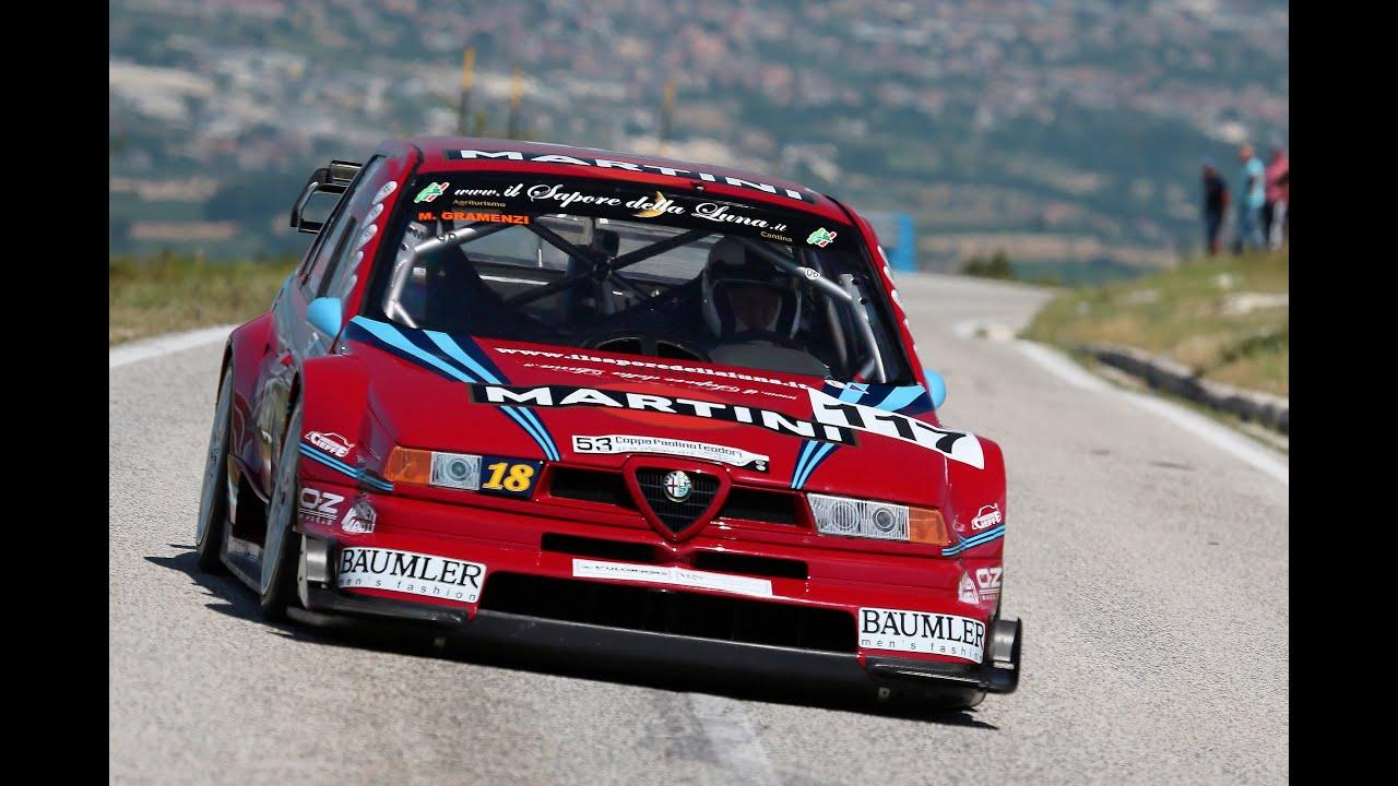 Marco Gramenzi // Alfa Romeo 155 V6 Ti // Paolino Teodori 2014 - YouTube