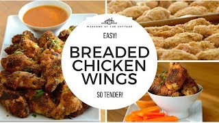 BREADED CHICKEN WINGS | Tasty & Easy!