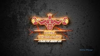 Royal Fitness Point logo Reveal