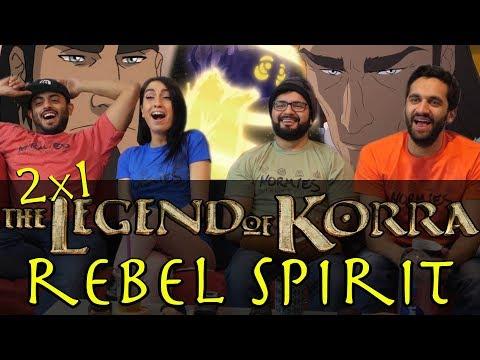 The Legend of Korra - 2x1 Rebel Spirit - Group Reaction