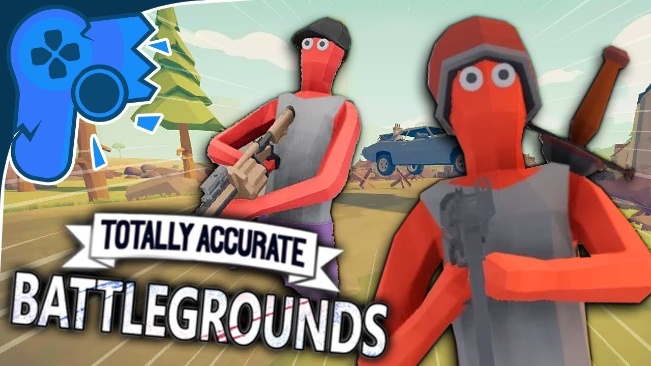 totally accurate battlegrounds how to start