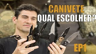 TIpos de lâminas - Como escolher um canivete? Episódio 1