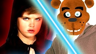 JEDI ANIMATRONICS! - Gmod Five Nights At Freddy's Star Wars Lightsaber Mod (Garry's Mod)