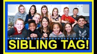 SIBLING TAG! | MEET SOME OF THE SIBLINGS!