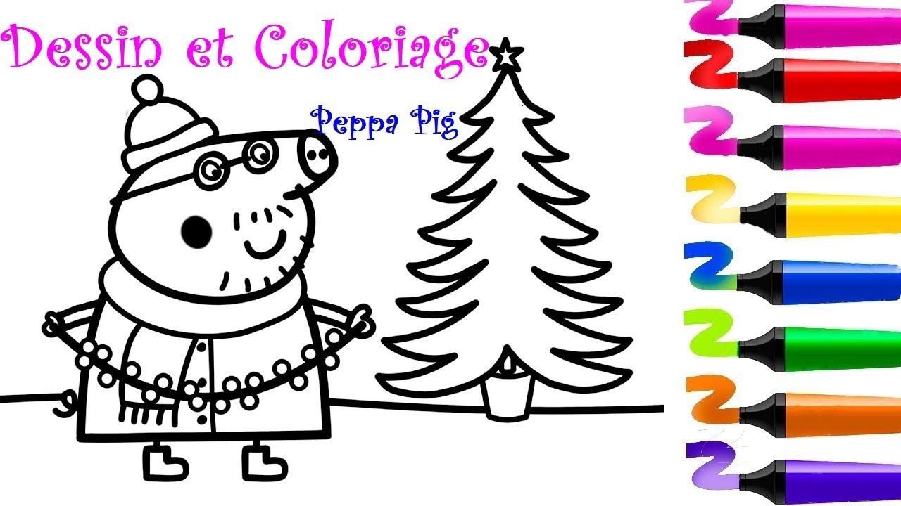 Dessin Et Coloriage Peppa Pig Coloriage Peppa Pig Coloriage Papa