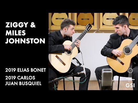 "Houghton's ""The Mantis And The Moon"" Played By Ziggy & Miles Johnston On Bonet And Busquiel Guitars"