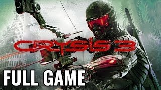 Crysis 3 - Full Game Walkthrough (No Commentary Longplay)