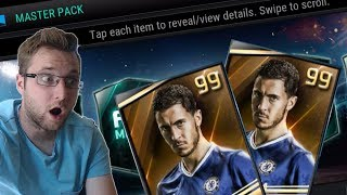 FIFA Mobile How Many 99 Masters Can We Pull in 36 Master Player Packs?!