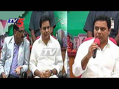 TSPSC Group 2 Free Coaching Through MANA Tv Says KTR | Telangana | TV5 News