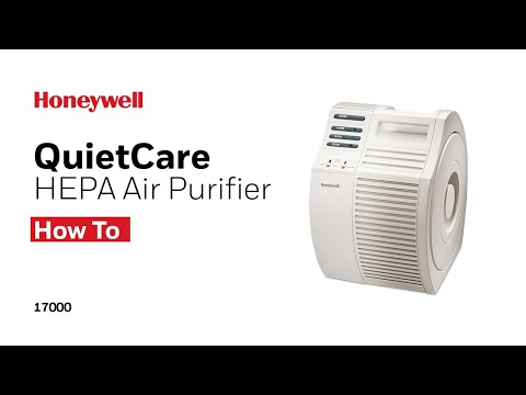 Honeywell HEPA Air Purifier 17000 - How to Change FIlter