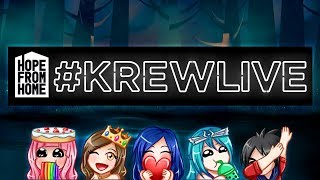 Charity Livestream with Krew! #HopeFromHome