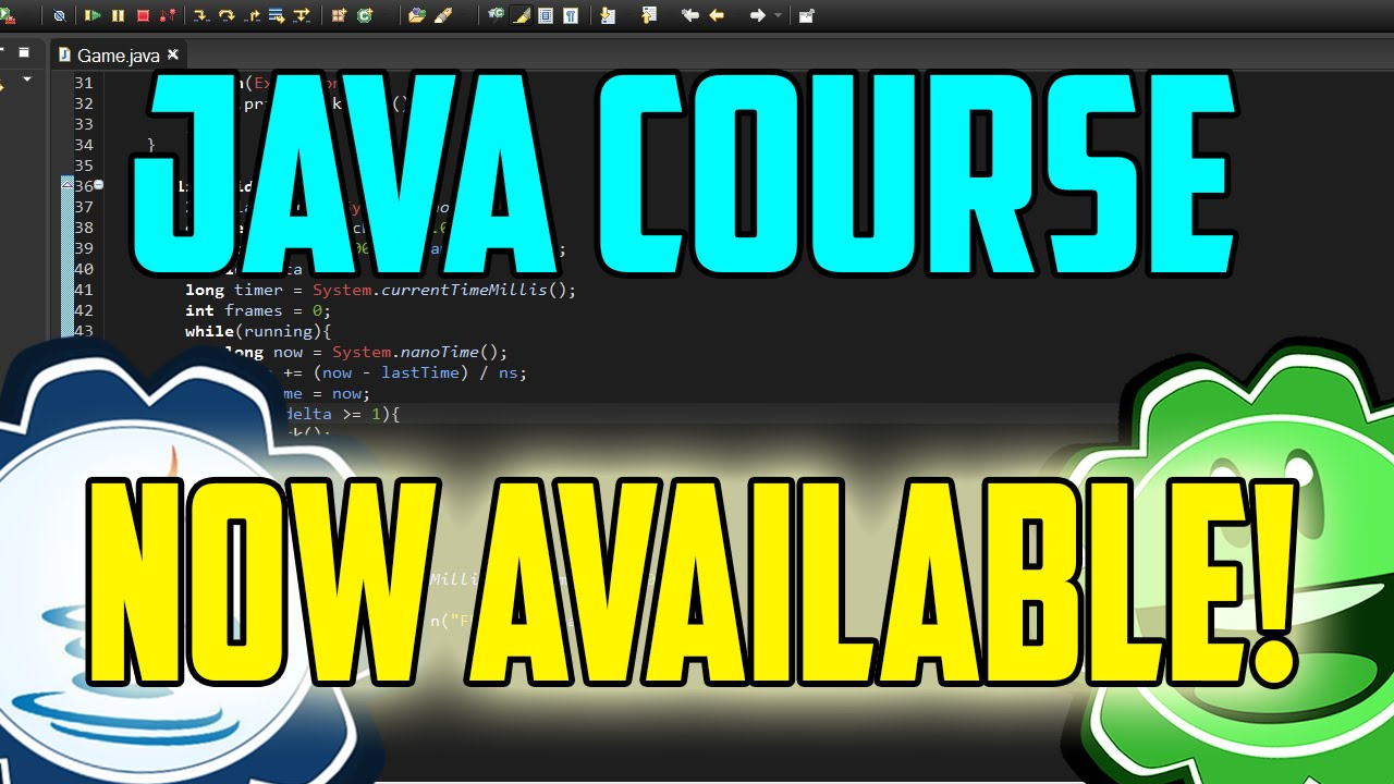 a1effcf89925 Java Game Course Available Now! - YouTube