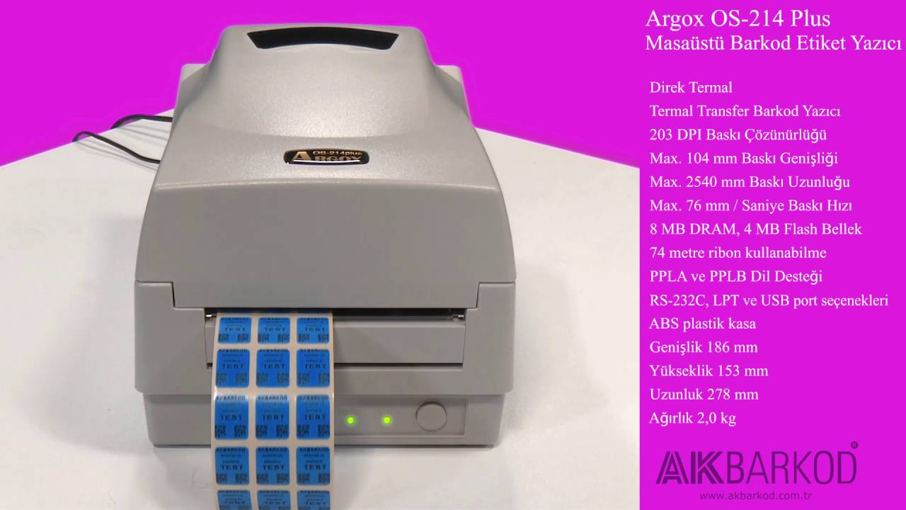 ARGOX OS-214 PPLA DRIVER DOWNLOAD