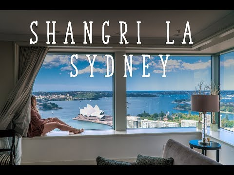 SHANGRI LA SYDNEY ROYAL SUITE TOUR