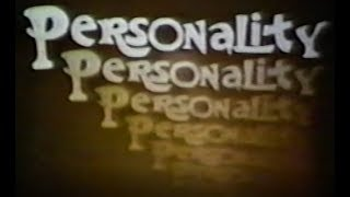 """Game Show """"Personality"""" -  1969"""