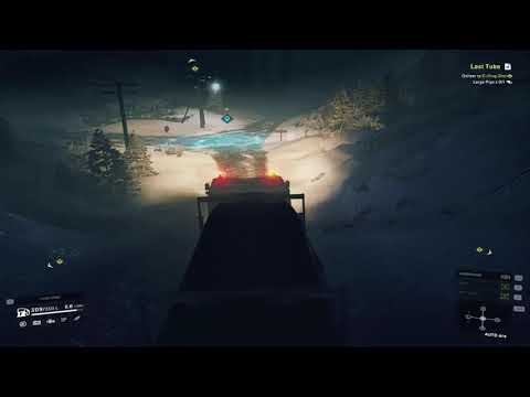 Lost Tube Snowrunner Game Play With Pc |