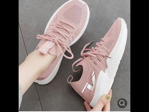 Girls Fashion Breathable Sneakers