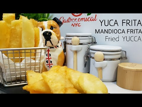 Fried Yucca, Yuca Frita, Mandioca frita. New Technique