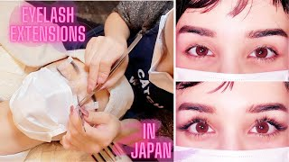 Getting Eyelash Extensions In Japan