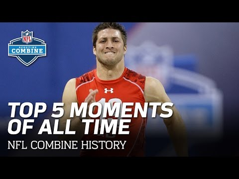 Top 5 NFL Scouting Combine Moments of All Time!