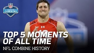 Repeat youtube video Top 5 NFL Scouting Combine Moments of All Time!