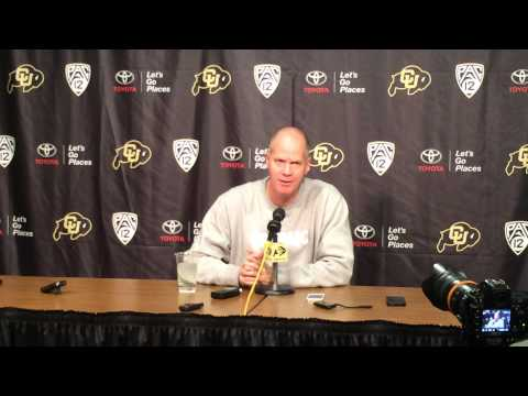 CU basketball media day - Tad Boyle