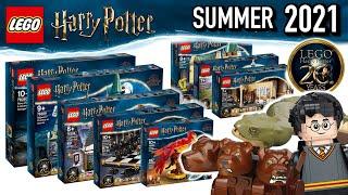 LEGO Harry Potter Summer 2021 Sets Revealed - In Depth Look