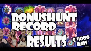 Bonushunt results of the Friday Special with the girls!