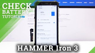 How to Activate Battery Percentage in Status Bar in Hammer Iron 3?