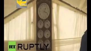 فيديو.. المهاجرون يشيدون أول مسجد في جزيرة يونانية منذ 300 عام