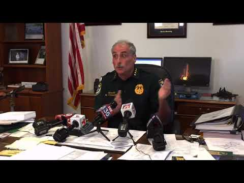 Volusia County Sheriff Mike Chitwood talks about Friday night's deputy-involved fatal shooting